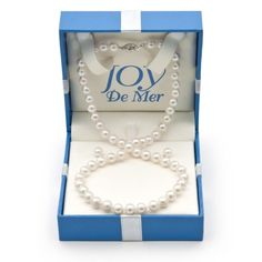 6.0-6.5mm, White Akoya Pearl Necklace And Stud « Holiday Adds