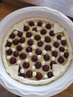 PASTU domov: Hruškový koláč s pudinkem Pie, Pudding, Torte, Cake, Fruit Cakes, Custard Pudding, Pies, Puddings, Cheeseburger Paradise Pie