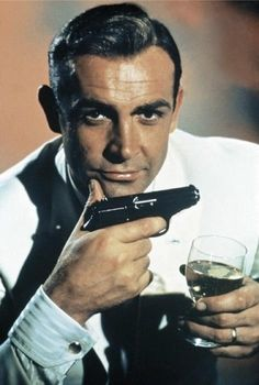 007 - Sean Connery, he reminds me of someone that was very important to me and very loved....could have been a twin!