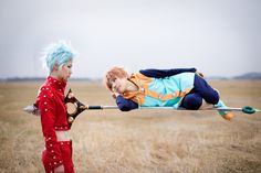 Ban (Nanatsu no Taizai/ The Seven Deadly Sins) by JK (crunchy_jerk) and DAMA (DAMA)