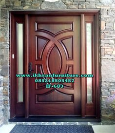 Are you looking for the best wooden doors for your home that suits perfectly? Then come and see our new content Wooden Main Door Design Ideas. Entry Doors With Glass, Wood Entry Doors, Wood Exterior Door, Wooden Doors, Glass Door, Oak Doors, Entrance Doors, Door Entry, Front Entry