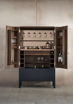 "Get fantastic suggestions on ""bar furniture cabinet"". They are on call for you on our website. Home Bar Furniture, Cabinet Furniture, Furniture Design, Furniture Ideas, Furniture Dolly, Cheap Furniture, Home Bar Cabinet, Armoire Bar, Luxury Bar"