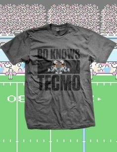 Tecmo Bowl 'Bo Knows' T-Shirt