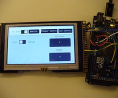 This is a guide showing an easy way to set up an LCD touchscreen interface with arduino, or other similar microcontrollers.It's also shameless self-promotion of my...