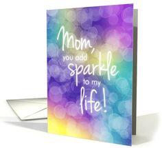 Beautiful birthday card for your friend features a colorful bokeh effect background and fun typography that seems to glow among the sparkling background. by Lisa Crisafi Birthday Cards For Friends, Birthday Gifts For Boyfriend, Friend Birthday, Diy Birthday, Mother's Day Greeting Cards, Birthday Greeting Cards, Custom Greeting Cards, Birthday Greetings, Grandma Birthday
