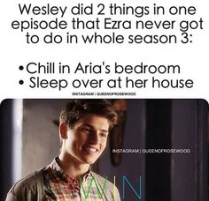 Wesley - Pretty Little Liars