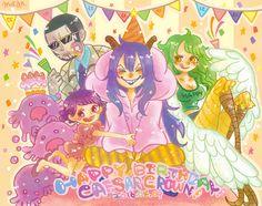 One Piece, Caesar Clown, Monet, Smiley, Vergo