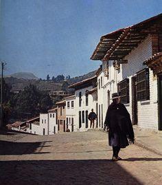 caminante campesina Boyaca, COLOMBIA