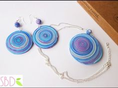 Gioielli fimo Spirale - ENG SUBS Fimo clay jewels Swirl - YouTube