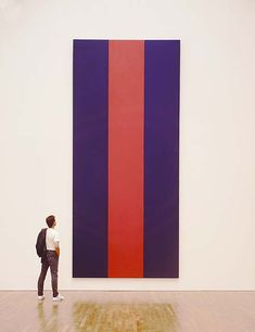Voice of Fire by Barnett Newman   lucidpractice.com   #minimalism