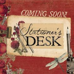 Presenting CHA Winter 2014 Mini-Sneaks!  Stationer's Desk has a rich, vintage color palette with old-time touches sure to invoke those nostalgic memories that just warm your heart. #stationersdesk #primasneakpeeks
