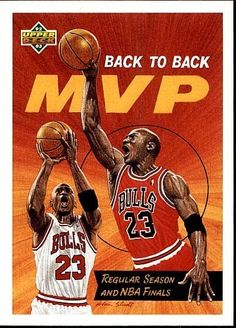 1992-93 UPPER DECK BACK TO BACK MVP MICHAEL JORDAN  67 at Amazon s Sports  Collectibles Store 990a64719