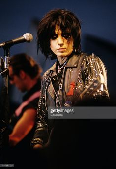 Joan Jett performs in concert circa 1994 in New York City.