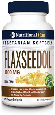 rich source of plant-based omega fatty acids to support healthy cholesterol and weight loss. Flaxseed oil supplements provides plant-based omegas for the heart, joints and overall health.
