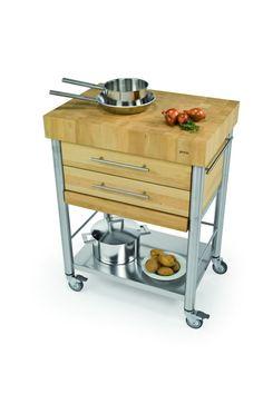 Küchenwagen Culinara Aus Massivholz Allnaturade Houdwerk 3