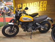 Ducati Scrambler 2015 at the Toronto Motorcycle Show #ducati #motorcycles
