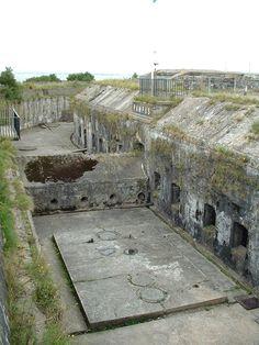 Abandoned Fortress Island Netherlands