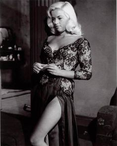"""Actress Diana Dors - Often called """"The British Marilyn Monroe"""" never quite gained the popularity she deserved."""