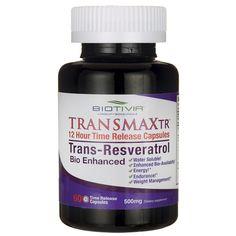 Transmax TR TransResveratrol, 500 mg 60 Caps AED671.00 #UAESupplements