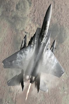 F-15 pulling some G's
