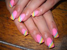 rainbow - Nail Art Gallery