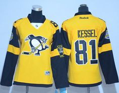 Penguins #81 Phil Kessel Gold 2017 Stadium Series Women's Stitched NHL Jersey