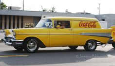 Rensselaer, Indiana Cruise Night: '57 Chevy Coca Cola Car with Trailer