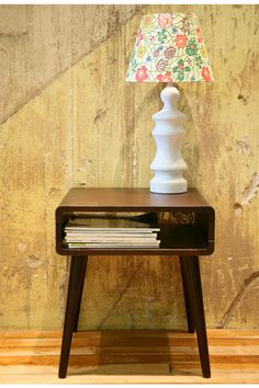 Wouldn't ordinarily pin anything from U.O., but this is worth it... Danish Modern Side Table