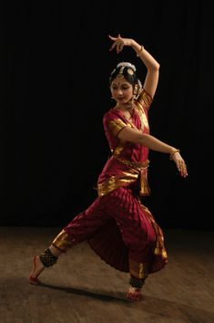 Bharatanatyam dancer
