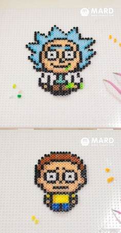 Rick and Morty perder beads