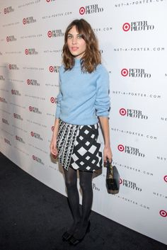 Alexa Chung attends Peter Pilotto For Target Launch at Gotham Hall on February 6, 2014 in New York City.