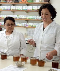 Our quality control team rigorously  tests our herbs before our our tea makes it to your grocery store.