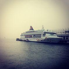 #hongkong #china #sarchina #cruise #ship #starcruises #victoriaharbour #pisces - @mikepena00- #webstagram Star Pisces, Victoria Harbour, Hong Kong, Opera House, Cruise, Ship, Stars, Building, Travel