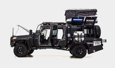 Patriot Camper Land Rover Supertourer
