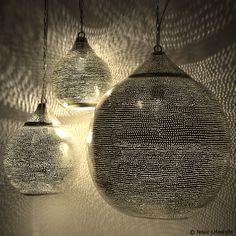 Egyptische lampen Uma met gaatjes motief