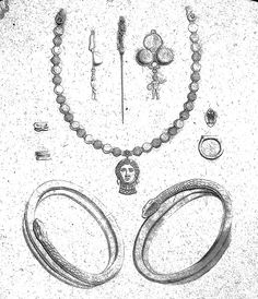 Italy. Drawings of gold jewelry from Pompeii. Brooklyn Museum Archives, Goodyear Archival Collection (S03_06_01_024 image 3161).    It helps us to know how our visitors work with our images, so if you use it, we'd love to know how! Drop us a line by le The best way to buy Real Gold for below wholesale. http://thegoldvideo.com/?a_aid=4f20374b564b4