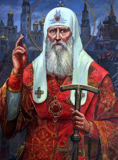 Москвитин Филипп Александрович. Священномученик патриарх Гермоген. Гермоген (в миру Ермолай) (1530-1612)