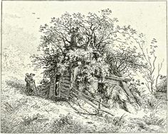 Ranelagh, CHELSEA. John Thomas Smith's twenty etchings of extravagantly rustic cottages published as Remarks On Rural Scenery Of Various Features & Specific Beauties In Cottage Scenery in 1797