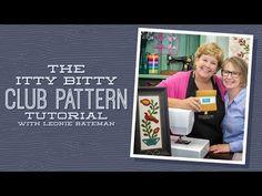 MSQC Tutorial - The Itty Bitty Club Pattern