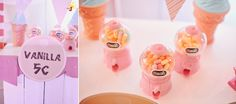 Chelsea's Sweet Shoppe Themed Party – Sweet Teats Girls Camp, Something Sweet, Party Themes, Chelsea, Ice Cream, Candy, Birthday, Pink, No Churn Ice Cream