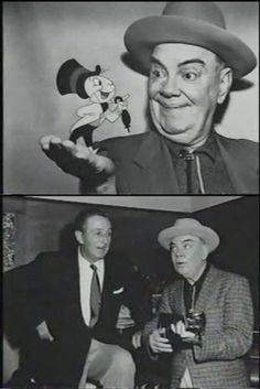 The Voice of Jiminy Cricket with Walt by ~MortenEng21 on deviantart