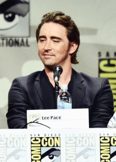 Lee Pace at Comic-Con 2014