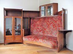 Gustave Serrurier-Bovy - Uniek Art Nouveau meubel