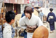 Rurouni Kenshin - The Great Kyoto Fire Arc - Kaoru Kamiya and Yahiko Myojin