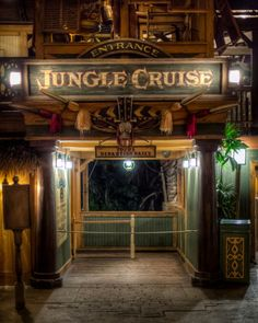 This is the Jungle Cruise located inn the Magic Kingdom in Adventure land. This ride takes you on a wild a fun river tour of the exotic animals from all around the world!
