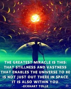 Stillness is our natural state.
