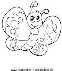 Ausmalbild Schmetterling 7 Ostern Pinterest Suche