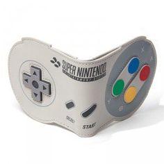 Portefeuille Manette Nintendo SNES Super Nintendo, Starwars, Mode Geek, Mickey Mouse, Pokemon, One Piece, Zelda, Disney, Wallet