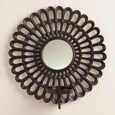 One of my favorite discoveries at WorldMarket.com: Scalloped Metal Sconce Candleholder