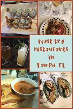 Must Try Tampa Restaurants - Florida Lives Clearwater Beach Florida, Sarasota Florida, Old Florida, Florida Travel, Florida Beaches, Beach Travel, Florida Trips, West Florida, Florida Living